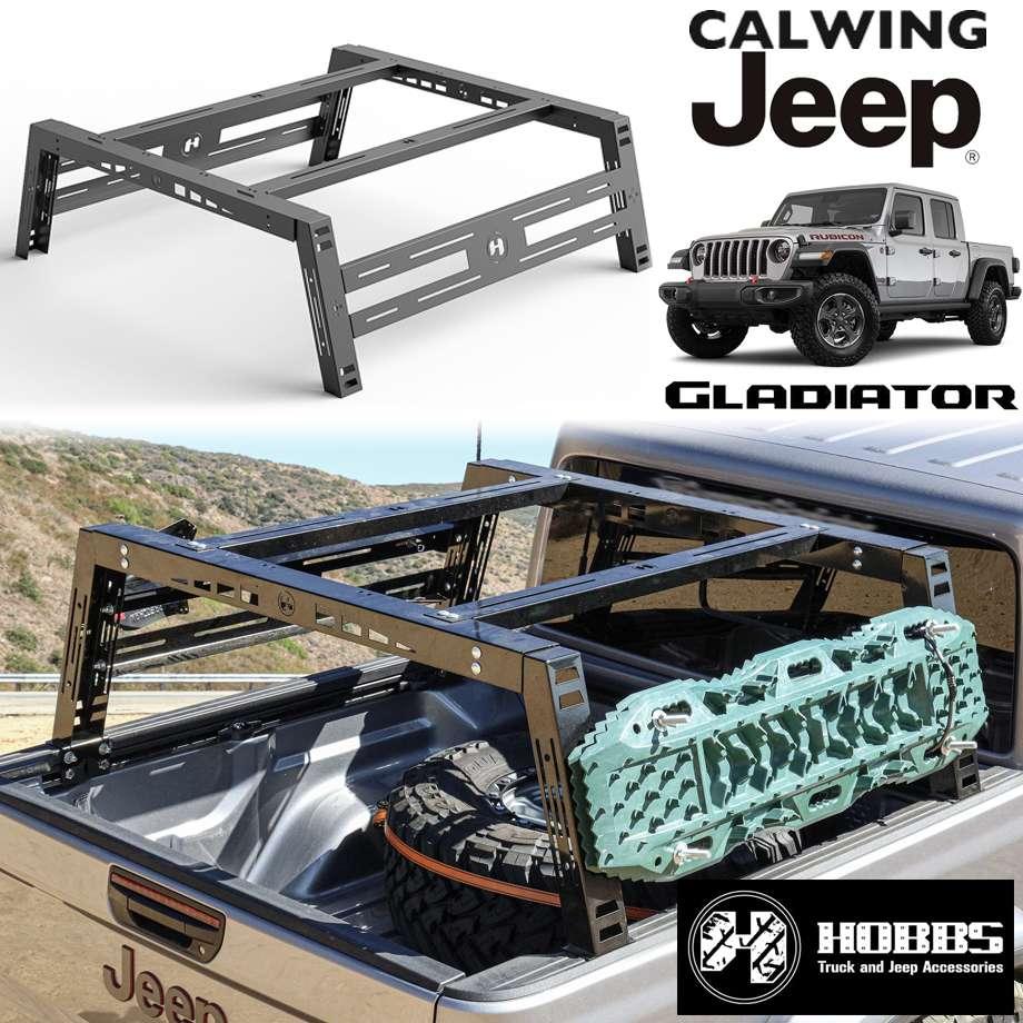 JEEP/ジープ GLADIATOR/グラディエーター JT '20y- | FREEDOM BED RACK/フリーダムベッドラック HOBBS【アメ車パーツ】
