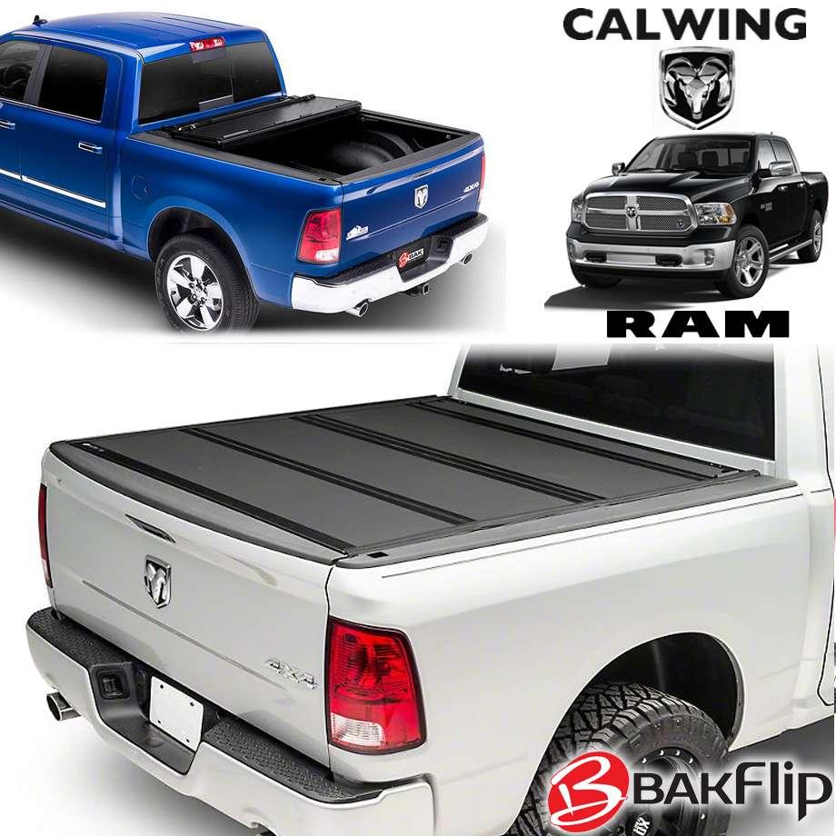 09-18y ラムトラックス ラムピックアップ | BAKFlip G2 トノカバー 5.7フィート トリプルフォールド ハードタイプ ブラック BAK INDUSTRIES