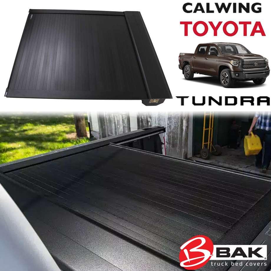 TOYOTA/トヨタ TUNDRA/タンドラ '07y- | BAK Vortrak トノカバー 5.7フィート アルミ シャッタータイプ ブラック BAK INDUSTRIES【アメ車パーツ】