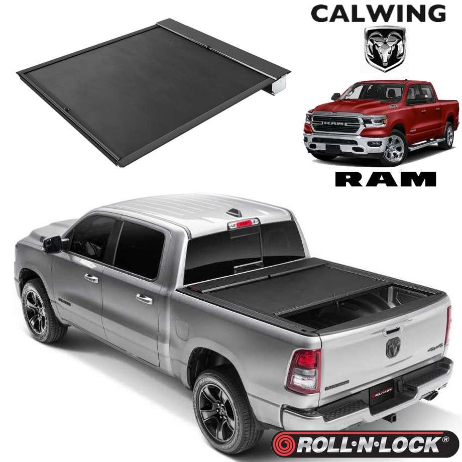 RAM TRUCKS/ラムトラックス ラムピックアップ '19y- | トノカバー 5.7フィート リトラクタブル 引き込み式 ブラック ROLL-N-LOCK/ロールンロック【アメ車パーツ】