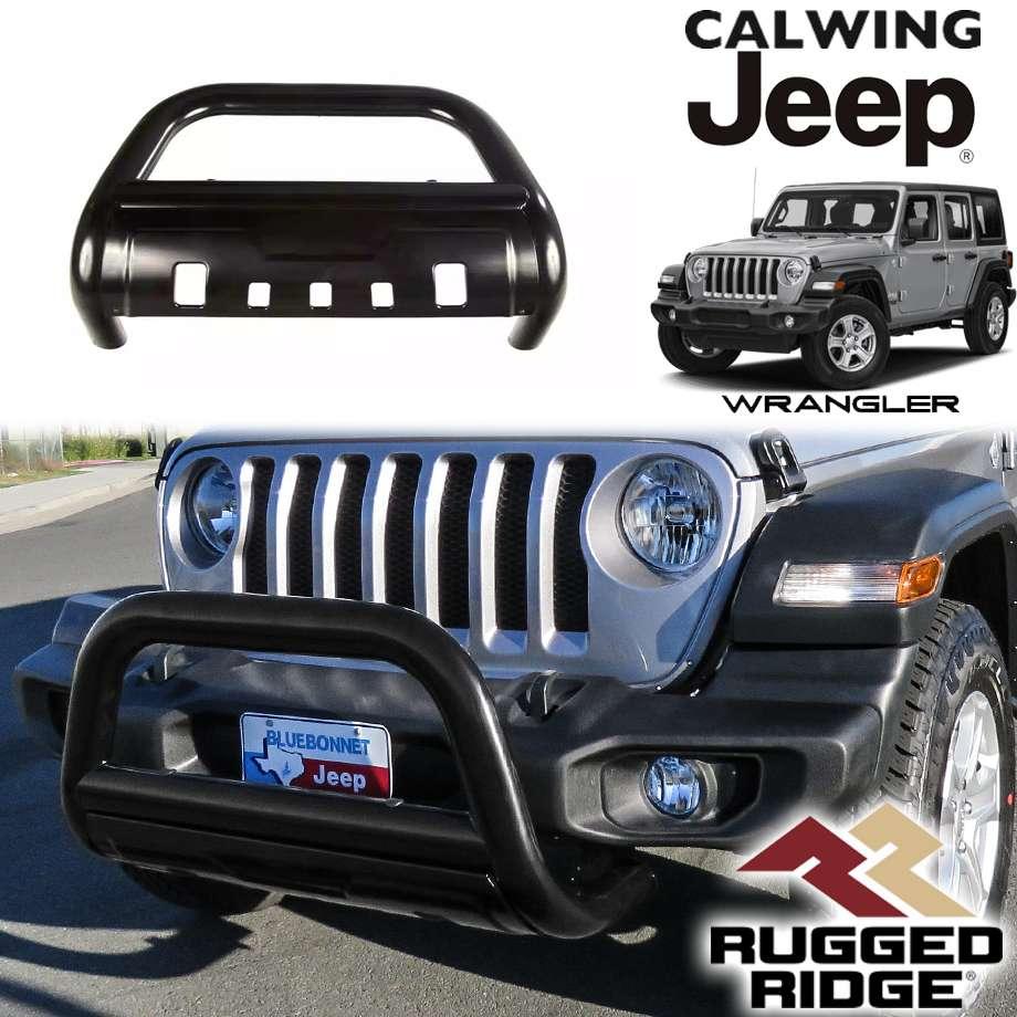 JEEP/ジープ WRANGLER/ラングラー JL '18y- | ブルバー 3.5インチ ブラック RUGGED RIDGE/ラギッドリッジ【アメ車パーツ】