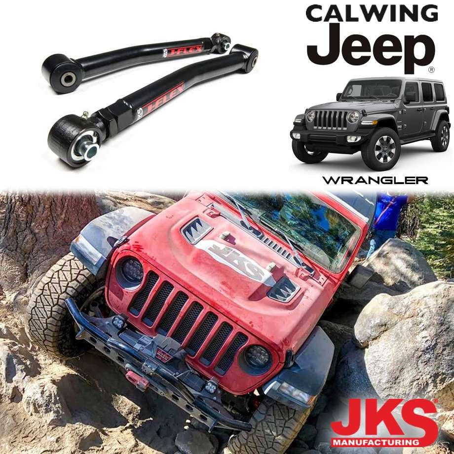 ジープ ラングラー JL 左ハンドル車 18y- | J-Flex アッパーコントロールアーム リア アジャスタブルタイプ JKS【アメ車パーツ】
