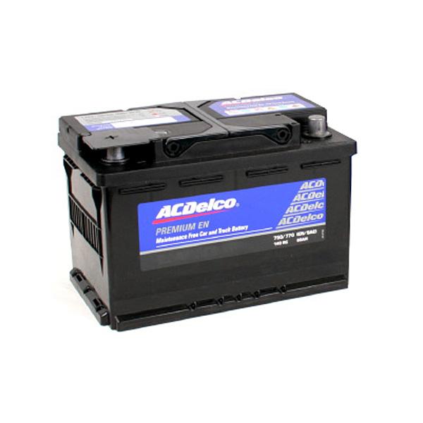 バッテリー 安心と信頼のACデルコ製 ACDelco LN3R トップターミナル アメ車  欧州車 ベンツ BMW 等