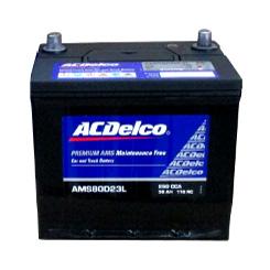 バッテリー ACデルコ ACDelco AMS80D23L 充電制御付カーバッテリー