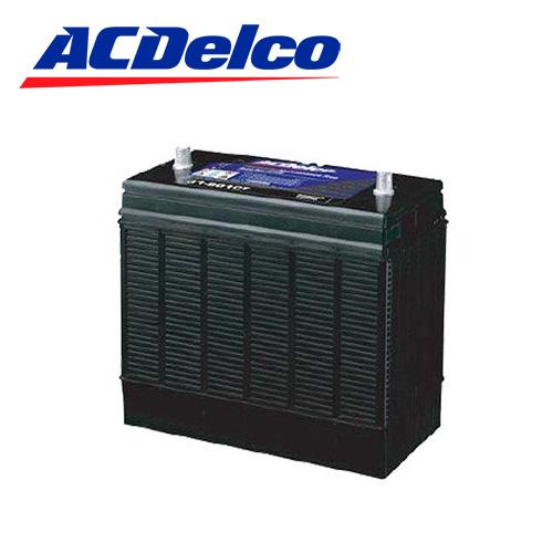 バッテリー ACデルコ ACDelco DC27 トップターミナル トラクター 耕運機 ヤンマー クボタ ミツビシ ディープサイクル シールドタイプ ヘビーデューティ ショベルカー