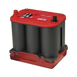 バッテリー オプティマ OPTIMA レッド レッドトップ AGMスパイラル RT100D23L S3.7L(R) ハイトアダプター付 44A