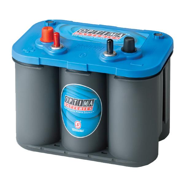 バッテリー オプティマ OPTIMA ブルー ブルートップ AGMスパイラル 8006-252 50A
