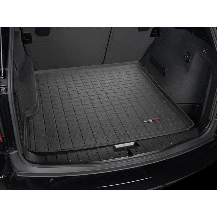 04-10y BMW X3 カーゴライナー ウェザーテック ブラック
