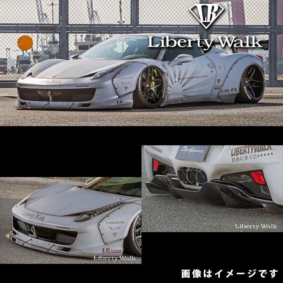 Ferrari フェラーリ 458 イタリア LB☆ワークス フルバンパー コンプリートボディキット FRP製