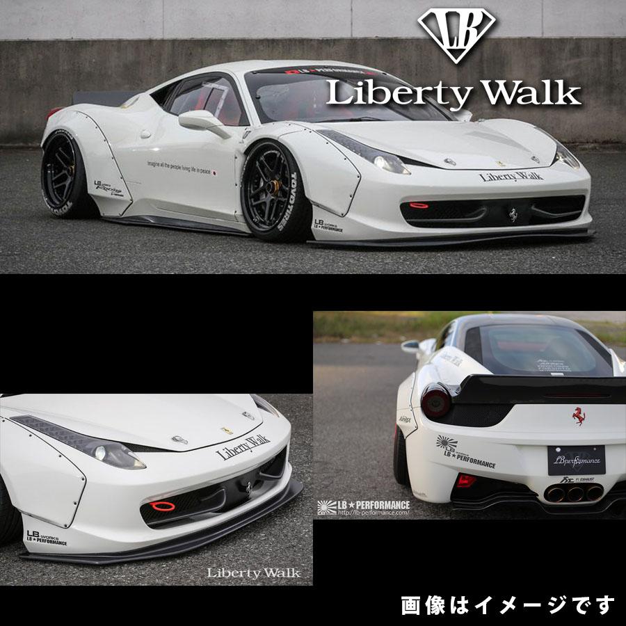 Ferrari フェラーリ 458 イタリア LB☆ワークス リップスポイラー コンプリートボディキット カーボンFRP製