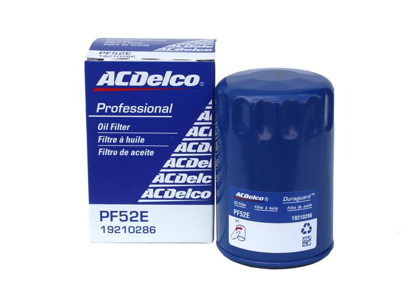 オイルエレメント オイルフィルター 物品 ACDelco ACデルコ PF52E GMC 価格 交渉 送料無料 キャデラック ビュイック シボレー 旧番PF52