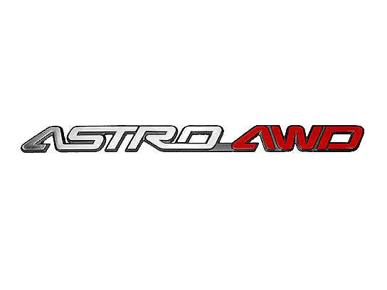 アストロ エンブレム AWD ~'95y【アメ車パーツ】