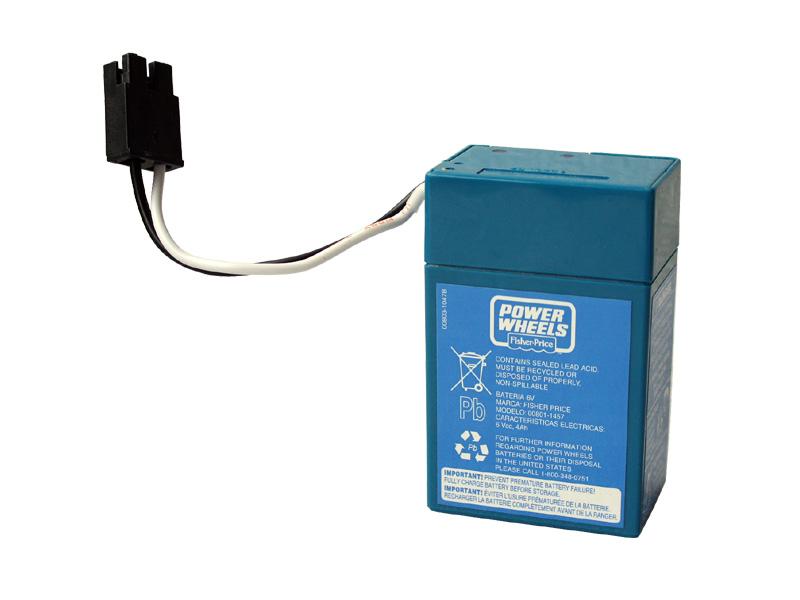 バッテリー 電動乗用専用 6V POWER WHEELS