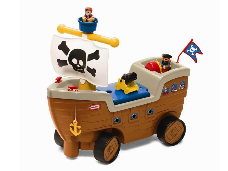 LITTLE TIKES リトルタイクス プレイインスクーター パイレーツシップ play in scooter pirates ship 子供用 おもちゃ kids 家庭用 アウトドア お庭 男の子 女の子 おままごと