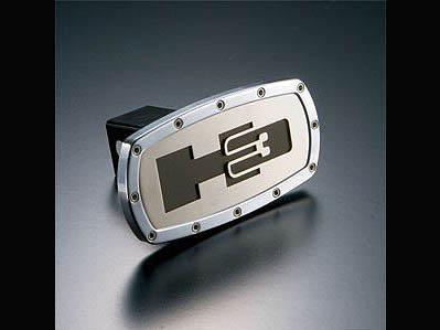 ヒッチカバー ヒッチメンバー カバー ビレット H3ロゴ 汎用 AMI製