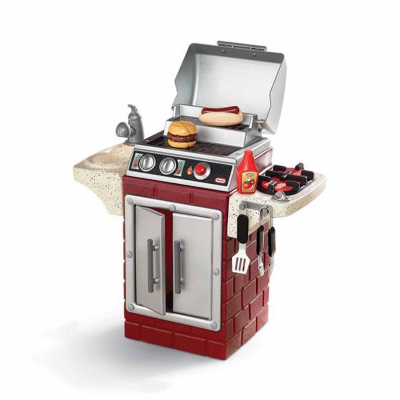 LITTLE TIKES リトルタイクス バックヤードバーベキューグリル Backyard barbecue grill おもちゃ kids 家庭用 アウトドア お庭 男の子 女の子 おままごと