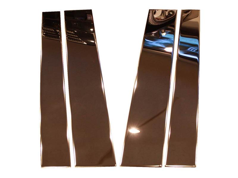 タンドラ ピラー ビーポストセット クローム ダブルキャブ&クルーマックス用 '07y-'11y【逆輸入車パーツ】