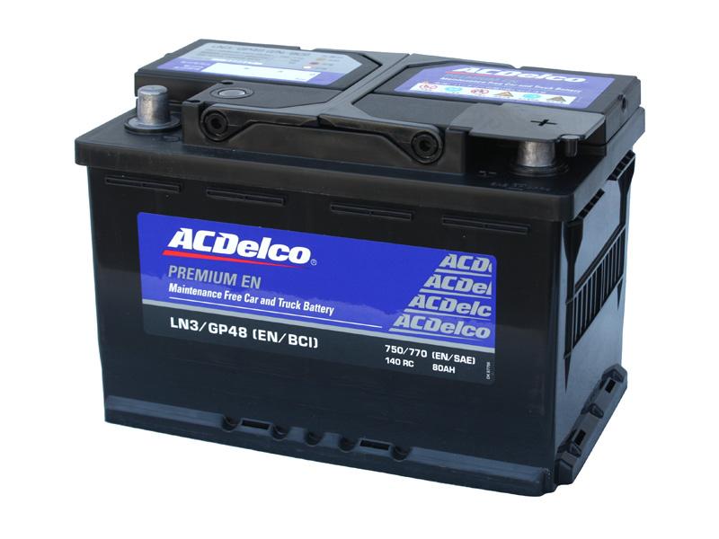 カーバッテリー AC DELCO LN3 AC デルコ アメ車 欧州車