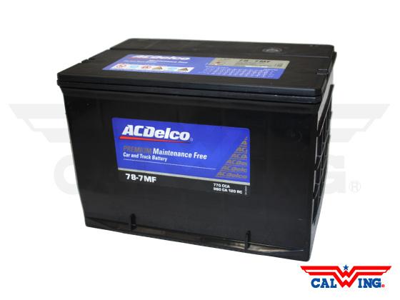 バッテリー ACデルコ ACDelco 78-7MF サイドターミナル