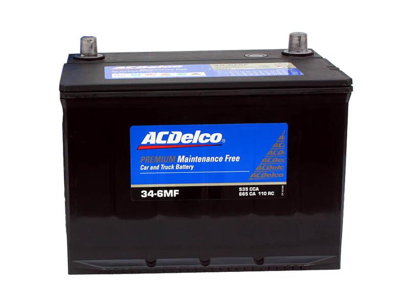 バッテリー ACデルコ ACDelco 34-6MF トップターミナル