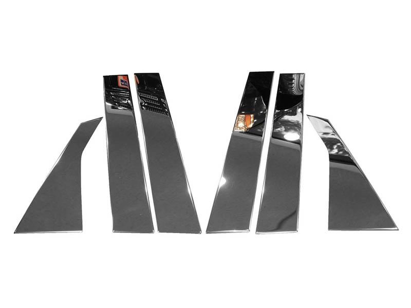 インフィニティ FX35 FX45 FX50 ピラー ビーポストセット クローム '09y~'12y