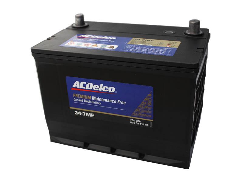 バッテリー ACデルコ ACDelco 34-7MF トップターミナル