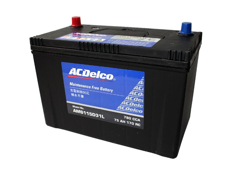 バッテリー 安心と信頼のACデルコ製 ACDelco 115D31L トップターミナル '07y-タンドラ セコイア FJクルーザー等