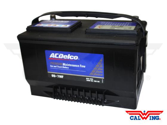 バッテリー 安心と信頼のACデルコ製 ACDelco 65-7MF トップターミナル