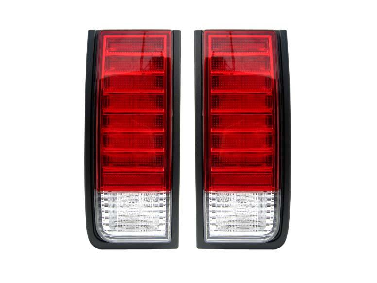 【XRIDEZ】【エックスライズ】ハマーH2 LEDテールランプ レッド&クリア【アメ車パーツ】