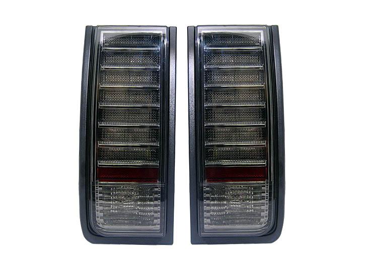 【XRIDEZ】【エックスライズ】ハマーH2 LEDテールランプ スモーク '03y~【アメ車パーツ】