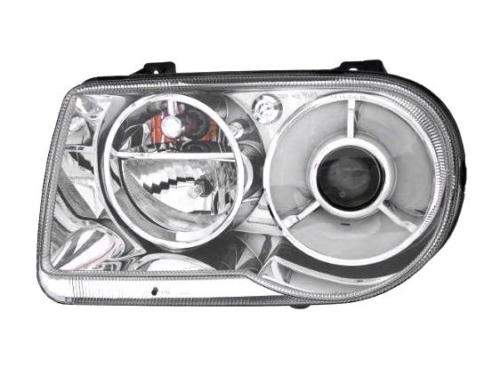 300C ヘッドライト 左 アフターマーケットパーツ ハロゲン車用 '05y~'09y【アメ車パーツ】