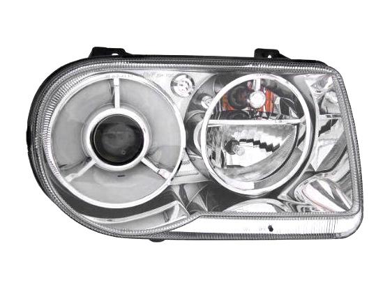 300C ヘッドライト 右 アフターマーケットパーツ ハロゲン車用 '05y~'09y【アメ車パーツ】