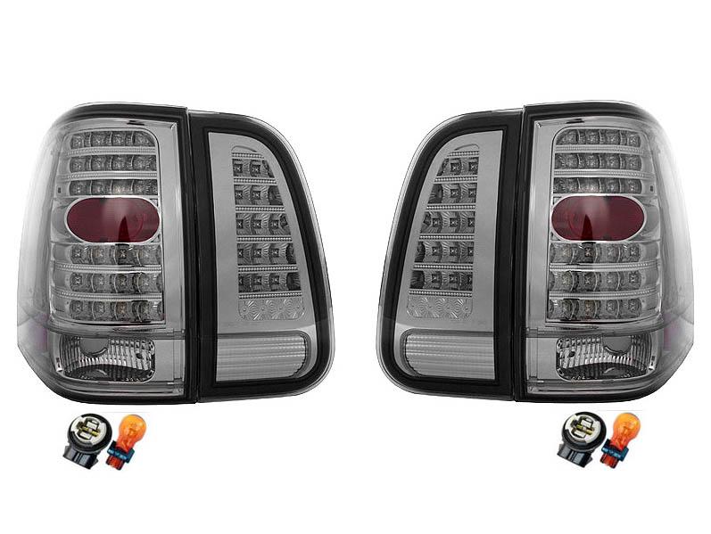 【XRIDEZ】【エックスライズ】ナビゲーター LEDテールランプ オールスモーク ウインカー改善用コネクター&バルブセット '03y~'06y【アメ車パーツ】