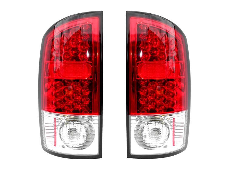 ダッジ ラムピックアップ ラムトラック LEDテールランプ レッド '02y~'06y【アメ車パーツ】
