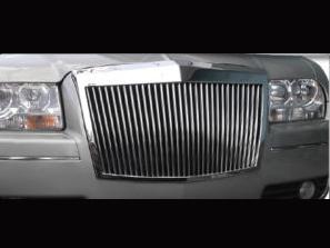 クラッシックグリル 300 300C ファントムスタイル クローム '05y~'10y【アメ車パーツ】