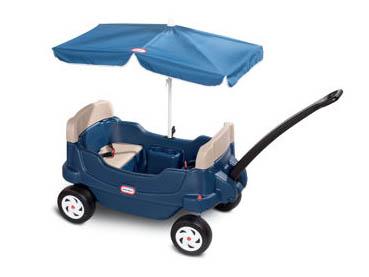 LITTLE TIKES リトルタイクス コージークルージンワゴン&アンブレラ 子供用 おもちゃ kids 家庭用 アウトドア お庭 男の子 女の子 Cozy Cruisin Wagon with Umbrella