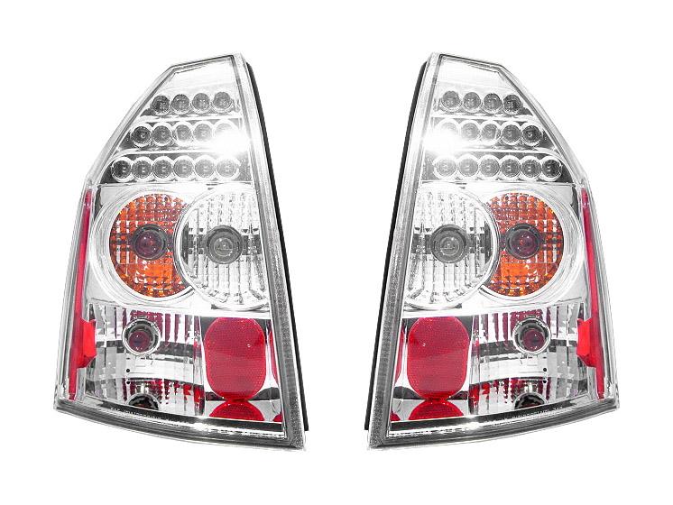 300C LEDテールランプ クリア '05y~'07y【アメ車パーツ】