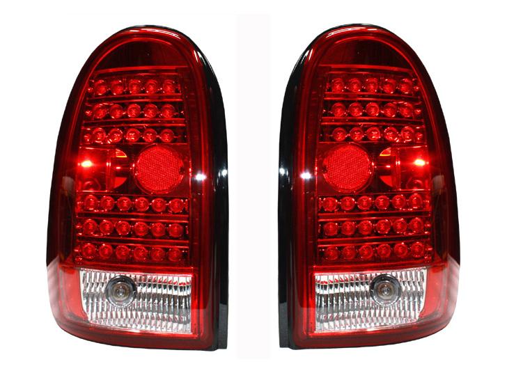 デュランゴ LEDテールランプ レッド '98y~'03y【アメ車パーツ】