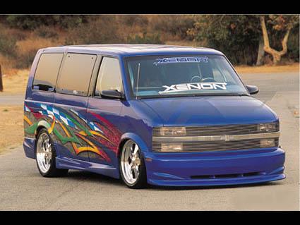 サファリ  ゼノン/XENON エアロ 95モデル フロント '95y~'05y【アメ車パーツ】