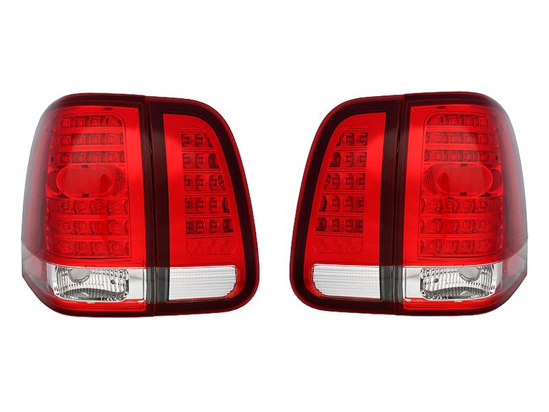 【XRIDEZ】【エックスライズ】ナビゲーター LEDテールランプ レッド&クリア '03y~'06y【アメ車パーツ】