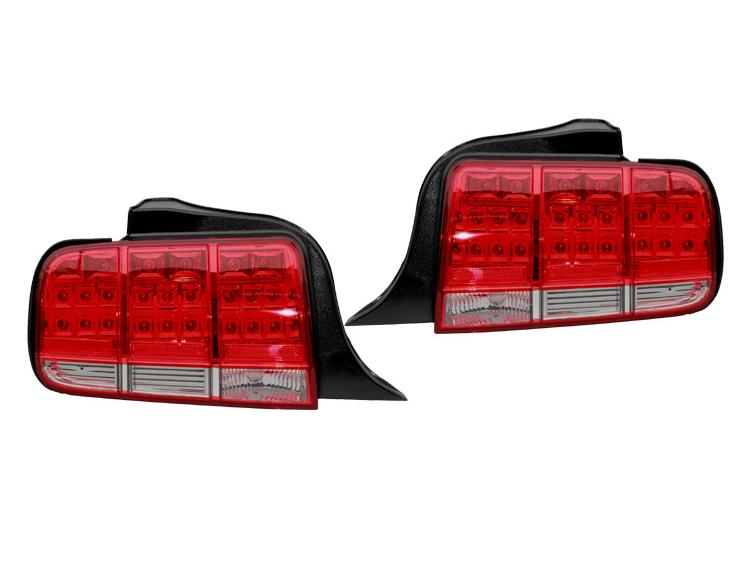 【売り切り特価!】マスタング LEDテールランプ レッドスモーク '05y~'09y【アメ車パーツ】