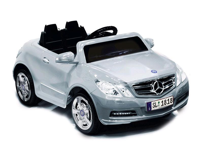 電動乗用 メルセデスベンツ E550モデル シルバー 6V