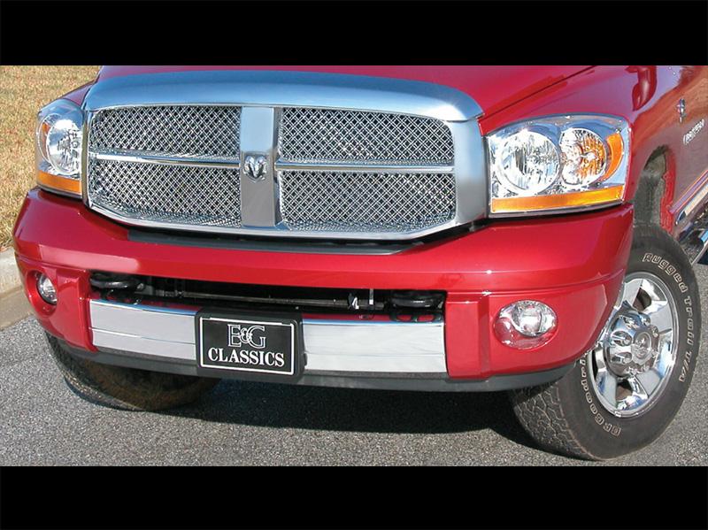 ダッジ ラムピックアップ ラムトラック デュアルウェーブメッシュグリル クローム E&G '06y-'08y