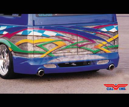 サファリ ゼノン/XENON エアロ 95モデル リア '95y~'05y【アメ車パーツ】