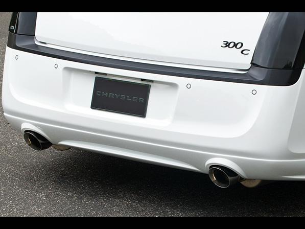 300 300C ゼノン/XENON エアロ リアバンパースポイラー '11y~'12y【アメ車パーツ】