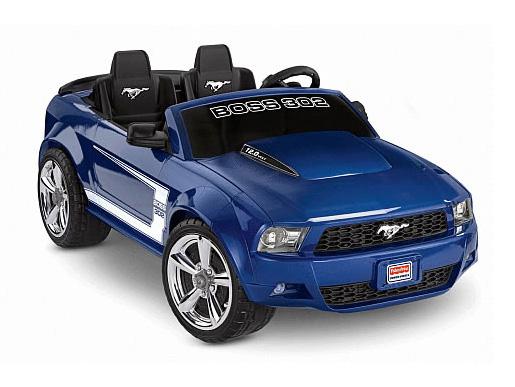 電動乗用 FORD/フォード マスタングモデル BOSS 302仕様 ブルー 12V