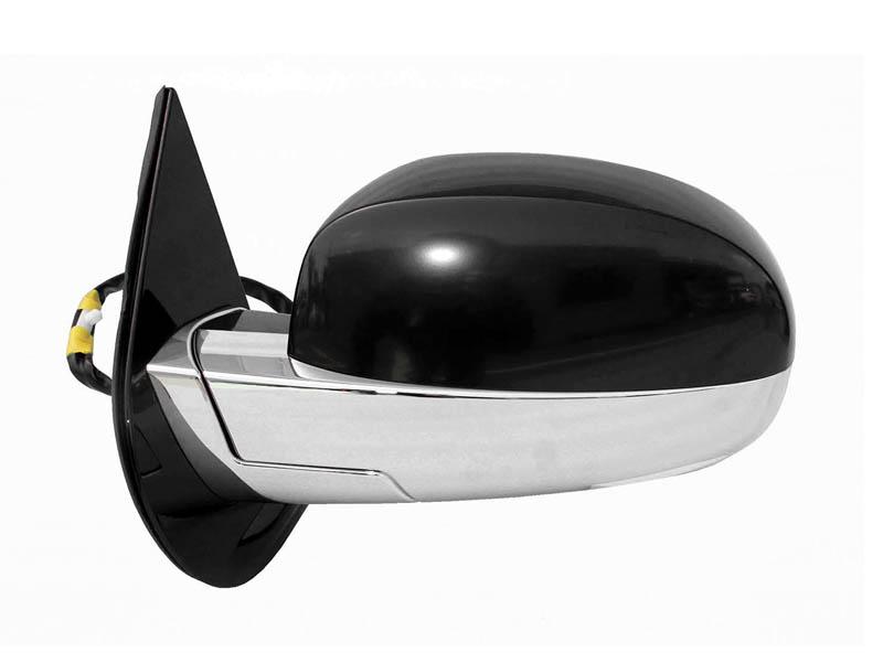 エスカレード ドアミラー 左 電動調整&電動格納、ヒーター、ウインカー、ライト付 純正 '07y-'08y【アメ車パーツ】