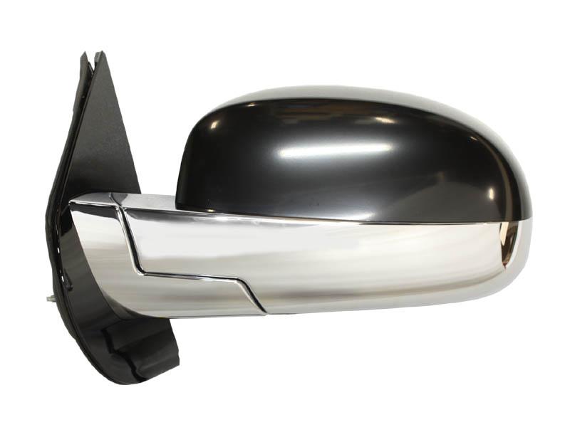 エスカレード ドアミラー 左 電動調整&電動格納、ヒーター、ウインカー、ライト、ブラインドゾーンアラート付き車用 純正 '09y-'13y【アメ車パーツ】