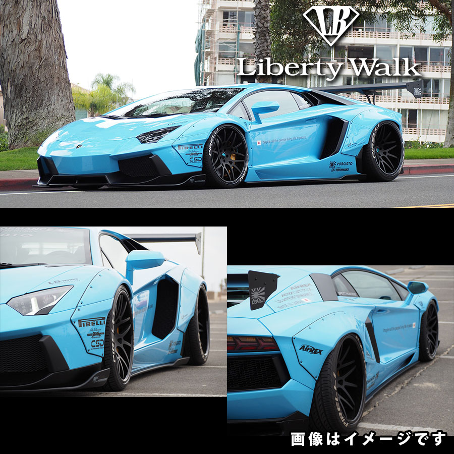 Lamborghini ランボルギーニ アヴェンタドール LB☆ワークス コンプリートボディキット カーボンFRP製