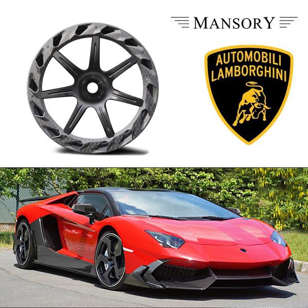 【MANSORY/マンソリー】Lamborghini/ランボルギーニ アヴェンタドール専用 MANSORY/マンソリー アルミホイール Carbonado V CentrerLock フロント ミギ ワイド 9J 20インチ
